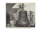 New Peal of Bells for St Paul's Cathedral, the Tenor Bell, Presented by the City Corporation Giclee Print