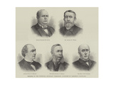 Members of the Venezuela Boundary Commission Appointed by President Cleveland Giclee Print