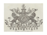 Armorial Achievement of Field-Marshal Arthur Duke of Wellington, Kg, Gcb, Gch Giclee Print