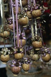 Handcrafted Pomegranate Christmas Decorations, Domplatz Christmas Market, Salzburg, Austria Giclee Print