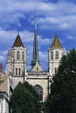 Dijon Cathedral (St Benignus), Dijon, Burgundy, France, 13th-14th Century Giclee Print