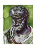 Portrait of Pythagoras (Samos, 570 Bc-Metaponto, 495 BC), Greek Philosopher and Mathematician Giclee Print
