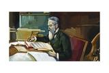 Nikolai Andreyevich Rimsky-Korsakov (Tikhvin, 1844 - Lubensk, 1908), Russian Composer Giclee Print