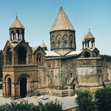 Etchmiadzin Cathedral (Unesco World Heritage List, 2000), Etchmiadzin, Armenia Giclee Print