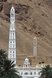 Tarim, 50 Metre-High Minaret, Al-Muhdar Mosque, Province of Hadramawt, Yemen, 20th Century Giclee Print