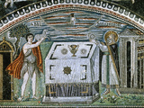 Sacrifice of Abel and Melchizedek (538-545 Ad). Basilica of St. Vitale. Ravenna. Italy Giclee Print