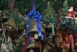 Handcrafted Christmas Bells, Domplatz Christmas Market, Salzburg, Austria Giclee Print