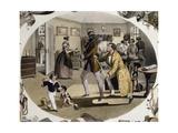 Tailor's Shop, 1838, Colour Lithograph by Carl Kunz and Johann Geiger, Austria, 19th Century Giclee Print