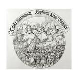 War of the Succession of Landshut (1503-1505). Siege of Kufstein (1505). Giclee Print