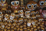 Owl Figurines, Balloon Festival for November Full Moon, Taunggyi, Myanmar Detail Giclee Print