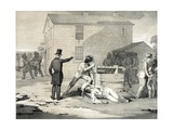 Martyrdom of Joseph and Hyrum Smith in Carthage Jail, June 27th 1844, 1851 Giclee Print