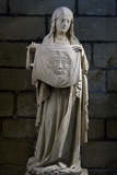 St Veronica, Stone Statue, Collegiate Church Ecouis, Normandy, France, 14th Century Giclee Print
