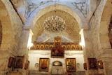 Syria- Ma'Lula (Malula). Monastery of Mar Sarkis (St. Sergius). Interior of Church of Sts. Sergius  Photographic Print