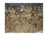 Paintings of a Group of Martyrs, Ayios Nikolaos Ties Steyis, Kakopetria, Cyprus Giclee Print