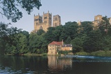 River Wear and Durham Cathedral, Founded in 1093 (Unesco World Heritage List, 1986), United Kingdom Photographic Print