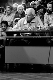 Herbert Marcuse During a Panel Discussion in Dusseldorf, 31st August 1976 Photographic Print