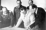 Herman Goering During a Visit to the Messerschmitt Works, 27th February 1941 Photographic Print