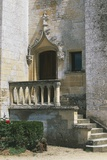 Renaissance Style Door on Facade of Fontaine-Henry Castle, Near Caen, Normandy, France Photographic Print
