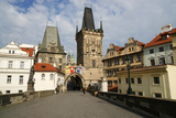 Czech Republic. Prague. Bridge Tower at the End of the Charles Bridge on the Side of Mala Strana Photographic Print