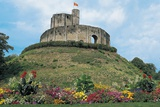 Polygonal Dungeon and Circular Walls of Gisors Castle, 11th Century, Normandy, France Photographic Print