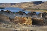 Halabiya Citadel, on Banks of Euphrates, Syria. Roman and Byzantine Civilisations, 3rd-6th Century Photographic Print