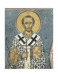Paintings of St. John Chrysostom, Panagia Ties Asinou Church, Nikitart, Cyprus Giclee Print