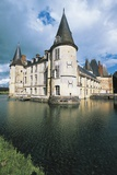 Southwest Corner of Chateau D'O, 15th Century, Renaissance Style, Normandy, France Photographic Print
