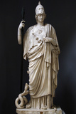 The Athena Giustiniani. Roman Copy of a Greek Statue of Pallas Athena. 2nd Century Photographic Print