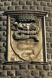 Close-Up of a Coat of Arms on a Wall, Sforza Castle, Milan, Lombardy Region, Italy Photographic Print