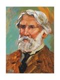 Portrait of Ivan Sergeyevich Turgenev (Orel, 1818-Bougival, 1883), Russian Writer Giclee Print