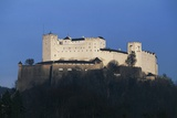 Hohensalzburg Castle, Medieval Fortress Overlooking the City of Salzburg, Austria Photographic Print