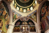 The Frescoes in the Church of the Greek Orthodox Convent of St Thecla (Taqla), Maaloula, Syria Photographic Print