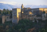 View of Alhambra (Unesco World Heritage List, 1984), Granada, Andalucia, Spain Fotodruck