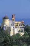 Pena National Palace, 19th Century, Mixture of Eclectic Styles, Sintra, Portugal Photographic Print