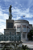 Statue of Admiral Lord Nelson in Trafalgar Square, Now known as Heroes Square, Bridgetown, Barbados Photographic Print