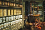 Reconstruction of Ancient Castle Pharmacy, Castle Museum, Linz, Austria Photographic Print
