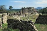 Sans-Souci Palace, 1810-1813, Milot (Unesco World Heritage List, 1982), Nord Department, Haiti Photographic Print