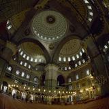Turkey. Istanbul. New Mosque or Yeni Cami. 16th-17th Century. Prayer Room Photographic Print