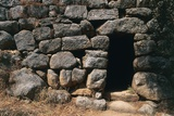 Entrance to Nuraghe Albucciu, 14th-10th Century Bc, Near Arzachena, Sardinia, Italy Photographic Print