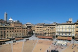 Piazza Del Campo, Siena (Unesco World Heritage Site, 1995), Tuscany, Italy Photographic Print