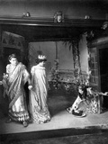 Scene from the Opera 'Salome' by Richard Strauss, Paris Conservatoire, 1907 Photographic Print