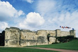 Chateau of Caen, Built by William Conqueror, Side Facing City, Normandy, France Photographic Print