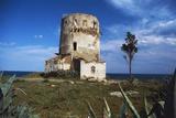 Spanish Tower of Porto Corallo, 17th Century, Villaputzu, Sardinia, Italy Photographic Print