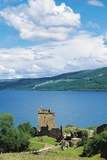 Ruins of Urquhart Castle on Banks of Loch Ness, Drumnadrochit, Scotland, United Kingdom Photographic Print