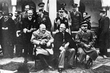 Group Portrait of the Key Members of the Yalta Conference, Yalta, Ukraine, 4th February 1945 Photographic Print