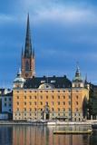 Old Parliament House (Gamla Riksdagshuset), 19th Century, Riddarholmen Island, Stockholm, Sweden Photographic Print