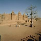 The Great Mosque (1907), Djenne (Unesco World Heritage List, 1988), Mopti, Mali Photographic Print