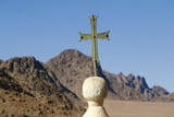 Cross on Top of Saint Catherine's Monastery, Sinai, Egypt, 6th Century Photographic Print
