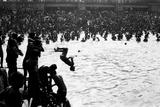 Boy Diving Somersault, Makar Sankranti, Hoogly River, Kolkata, West Bengal, India, 1977 Photographic Print