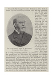 The Late Admiral Sir G G Wellesley, Distinguished Naval Officer Giclee Print